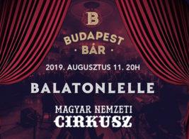Koncert és cirkusz Balatonlellén